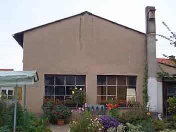 Altes Werkstattgebäude von 1950