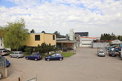 Werkstattgebäude heute